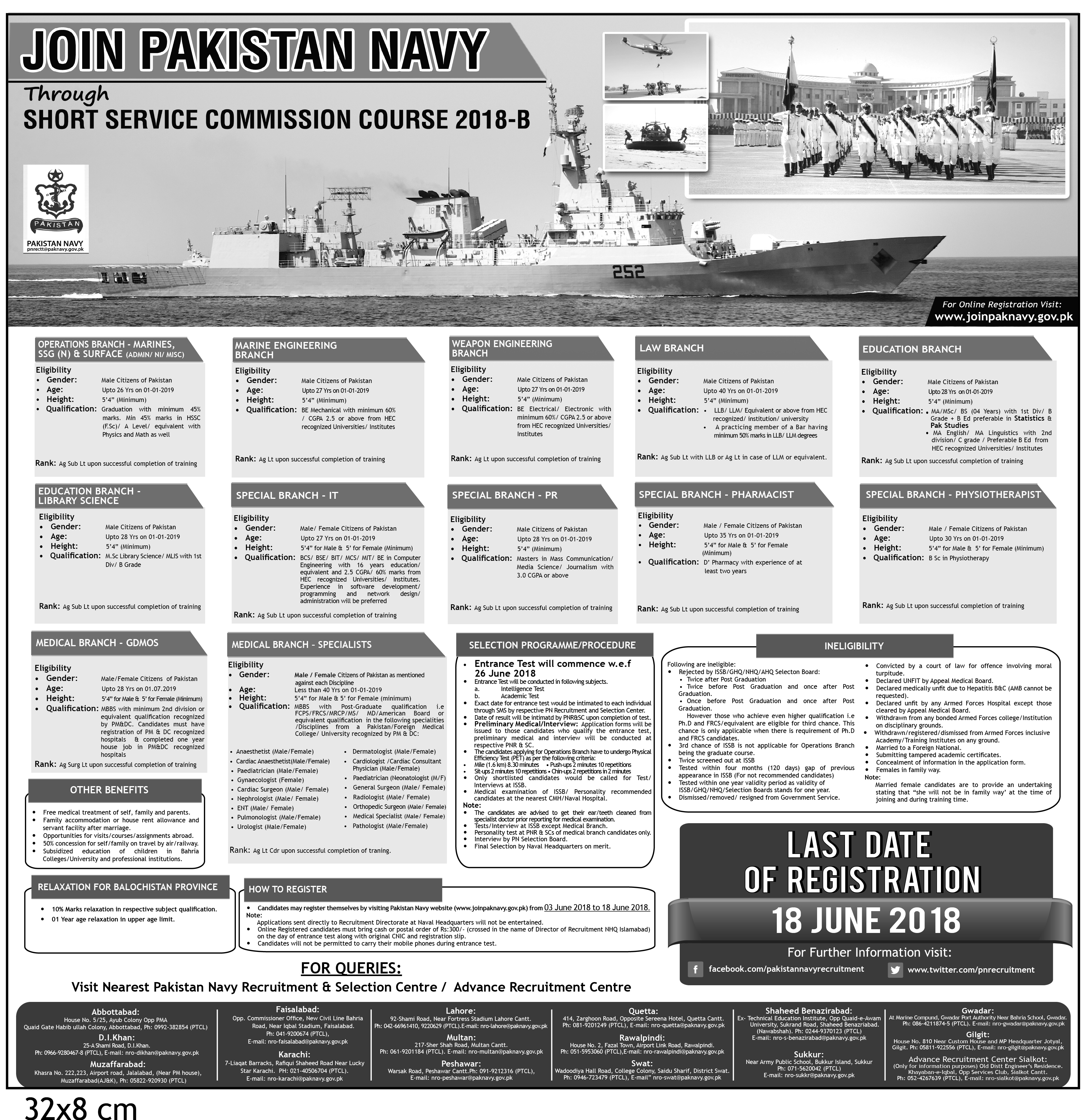 Join Pak Navy through Short Service Commission Course 2018 B Latest Jobs Navy-thumbnail