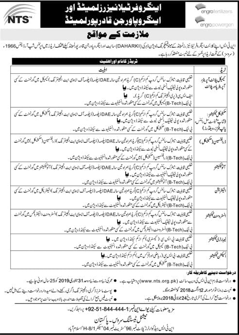 Angero Fertilizer Limited Latest Jobs 2018 Apply from www.nts.org.pk-thumbnail
