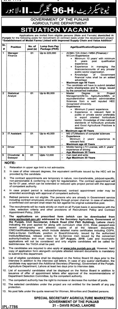 Agriculture Department Latest Jobs 2018 Government Jobs-thumbnail