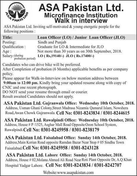 ASA Pakistan Limited Latest Jobs 2018 Walk in interview-thumbnail