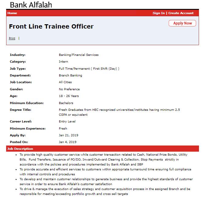 Bank Alfalah Jobs 2019 Apply online Fresh Candidate Jobs-thumbnail
