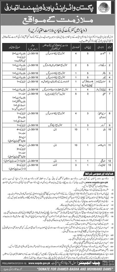 Wapda Jobs 2019 Government of Pakistan Download application form-thumbnail