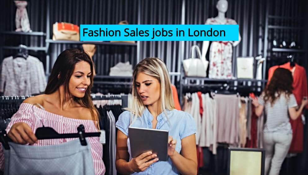 Fashion Sales jobs in London