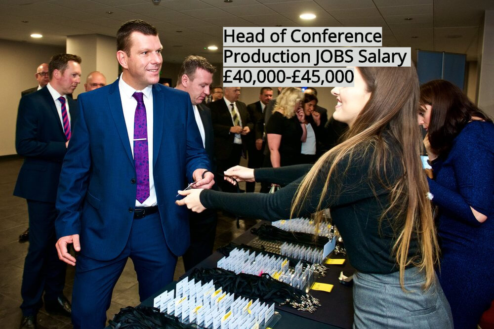 Head of Conference Production Public Sector Events jobs in London UK