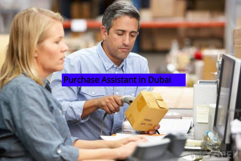 Purchase Assistant Jobs in Dubai