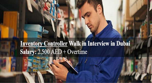 Inventory Controller Walk In Interview jobs In Dubai-thumbnail