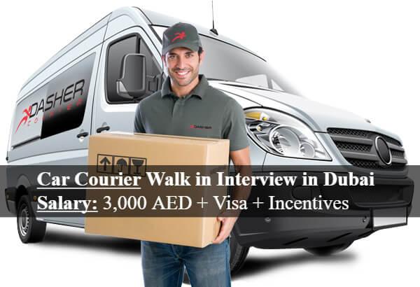 Car Courier Walk In Interview In Dubai