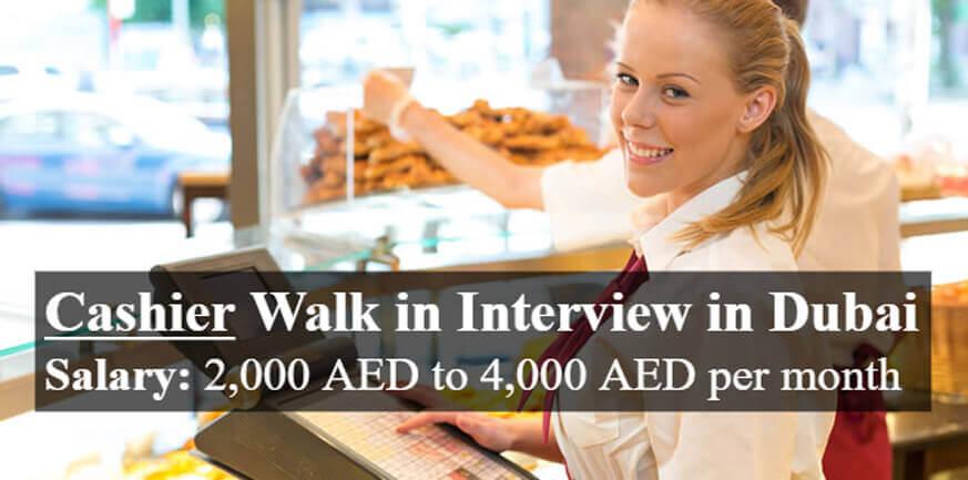 Cashier Latest Jobs in UAE