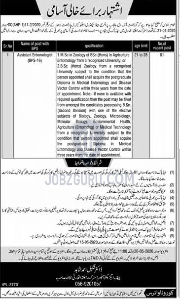 Primary And Secondary Health Care Department Latest Jobs ...